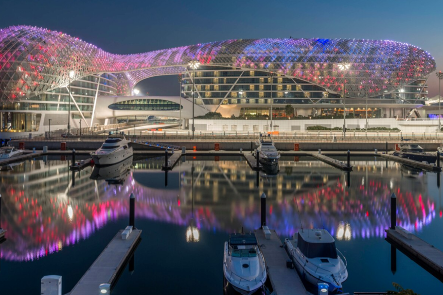 The best hotels in Abu Dhabi Over Grand Prix Weekend