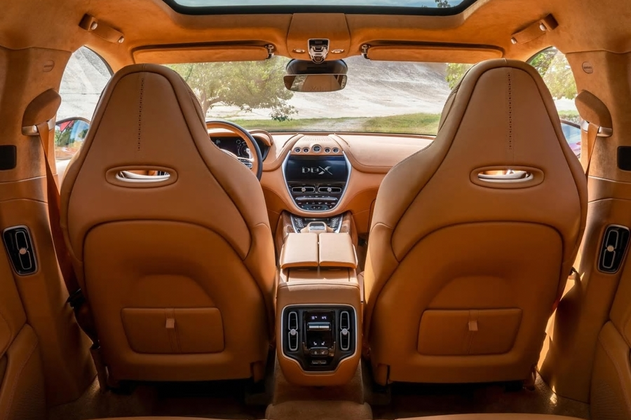 Welcome Inside Aston Martin's First SUV