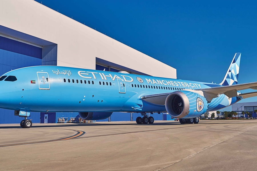 Manchester City Now Has Its Own Boeing 787