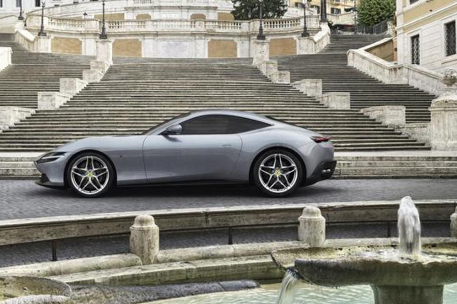 The Ferrari Roma Is Unlike Anything We've Seen From The Prancing Horse