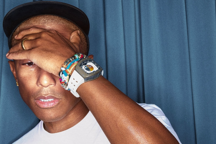 Pharrell And Richard Mille Collaborate On An Out-Of-This-World Watch