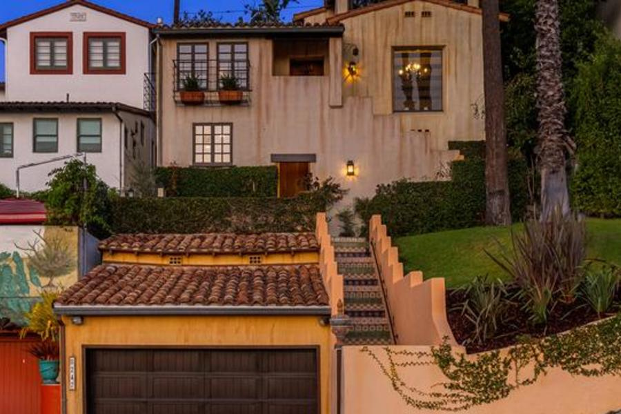 See Inside Aaron Paul's $3.2M Spanish-Style Casa In Hollywood Hills