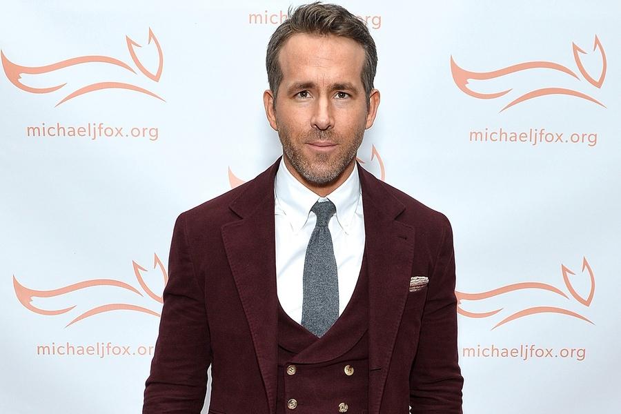 Tis The Season For Ryan Reynolds' Oxblood Suit