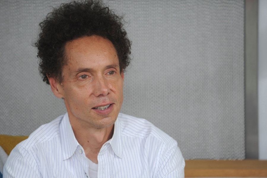 Out To Lunch With Malcolm Gladwell