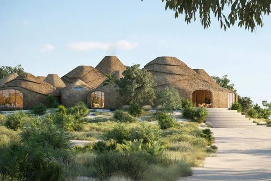 The World's First Luxury Hotel Made With 3D-Printed Sand Is Coming To Mozambique