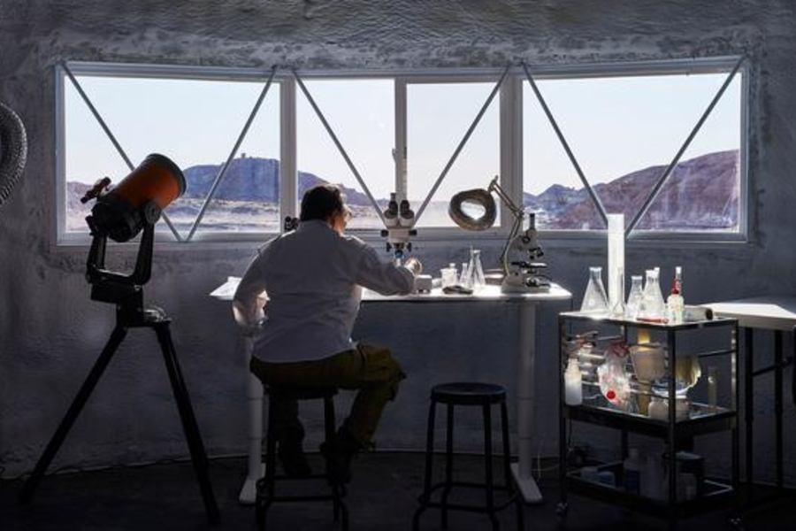 IKEA Just Turned The Tiniest Of Homes At The Mars Desert Research Station Into A Spacious Stay