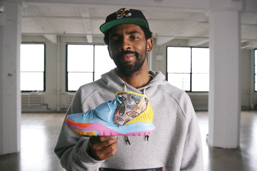 Kyrie Irving On The Comfy Air Jordans That Inspired His New Kyrie 6