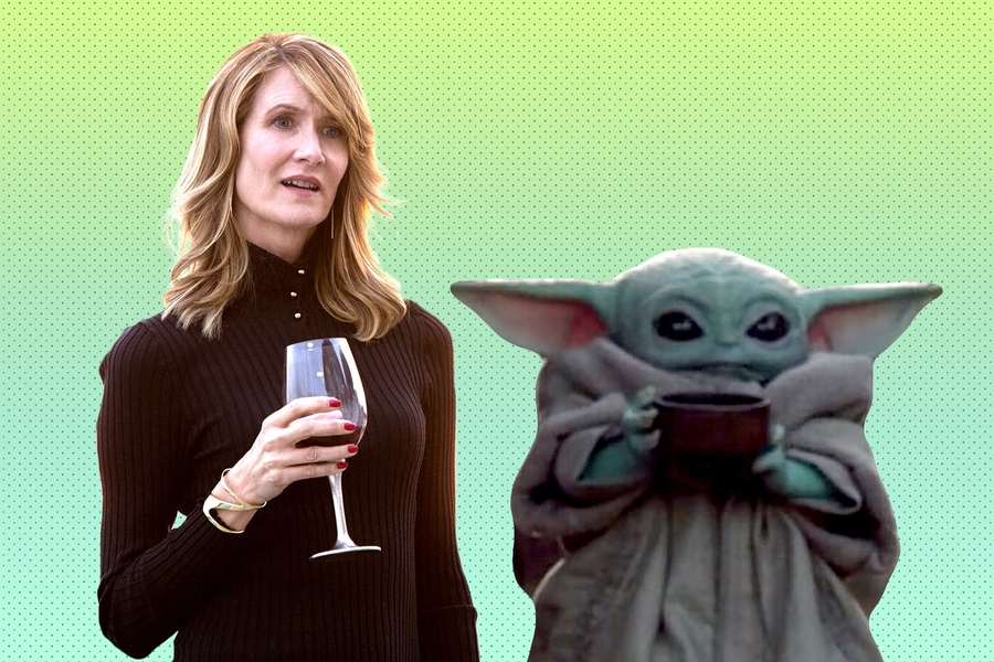 Laura Dern Said She Saw Baby Yoda At A Basketball Game—and I Believe Her