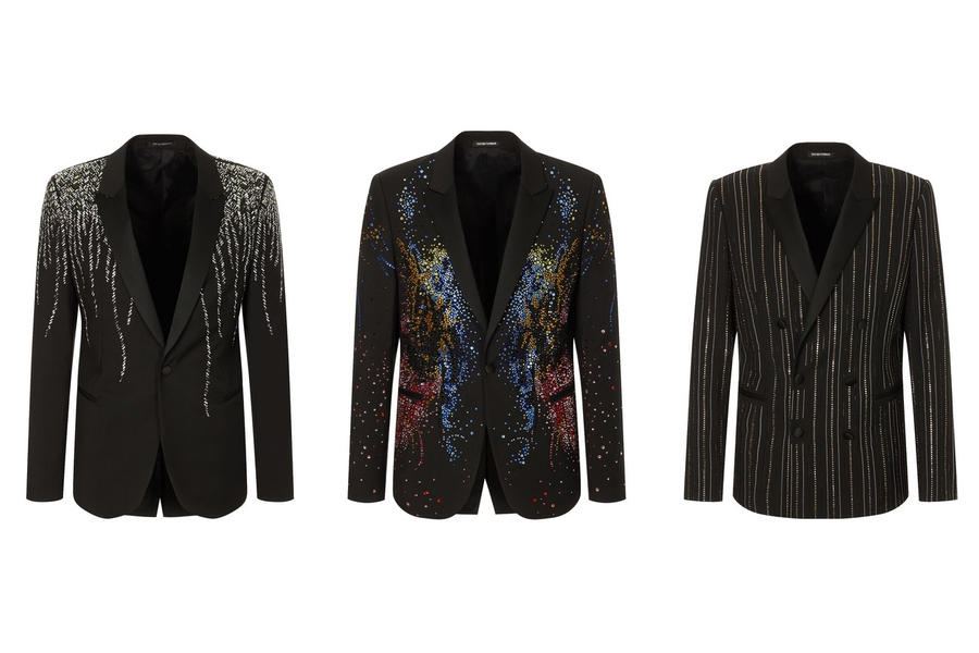 December Dressing Starts (And Ends) With These Emporio Armani Jackets
