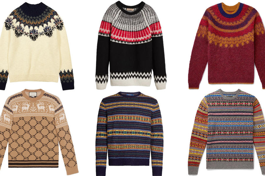 The Best Men's Christmas Jumpers (That You'll Actually Want To Wear)