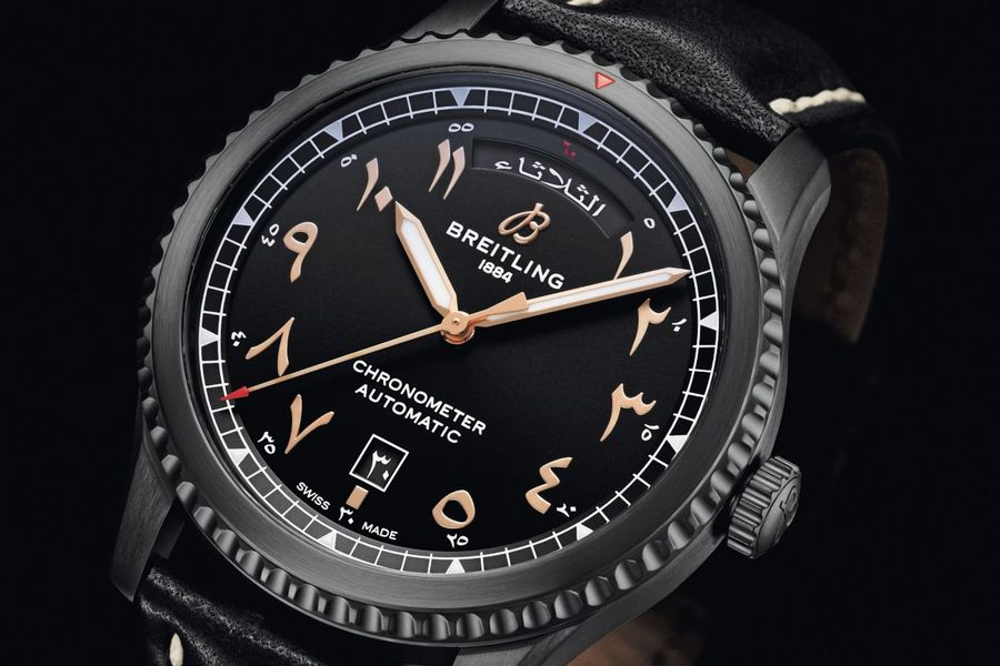 Breitling And Etihad Set Your Flight Time