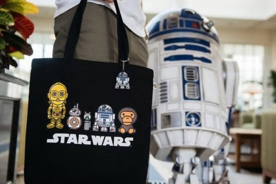 BAPE And Star Wars Are Dropping A Collection To Celebrate The Rise Of Skywalker