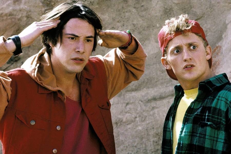 Your First Look At Keanu Reeves And Alex Winter In Bill & Ted Face The Music