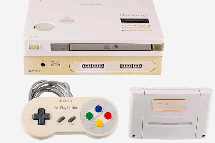 One Of The Very First Super Nintendo/Playstation Prototypes Has Come Up For Auction
