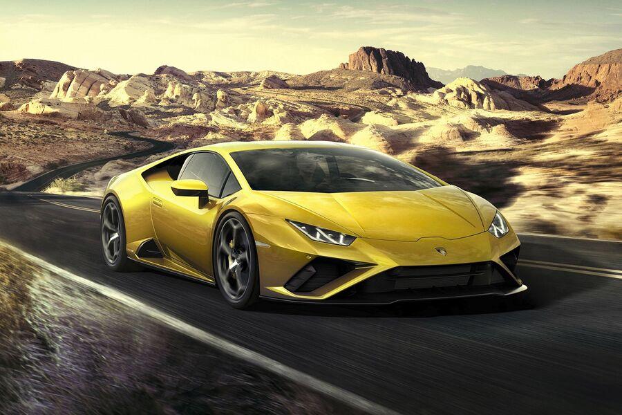 The New Lamborghini Huracán EVO Rear Wheel Drive Is Revealed