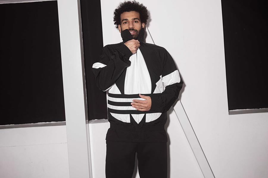 Mo Salah Looks Boss In The New Adidas Trefoil Collection