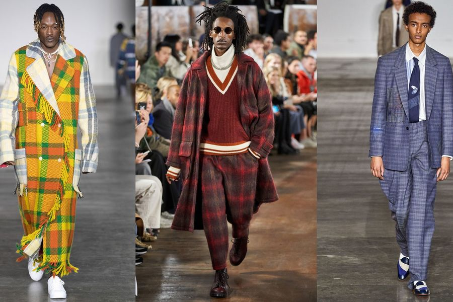 The Best Check Coat Of AW20 Was Inspired By The Women's Institute