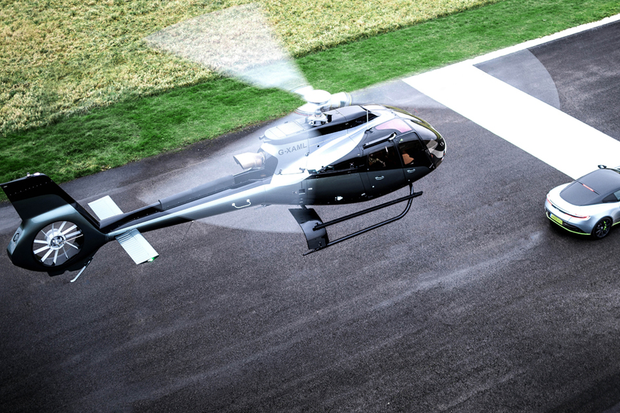 This Aston Martin Designed Helicopter Is As Lux As It Sounds