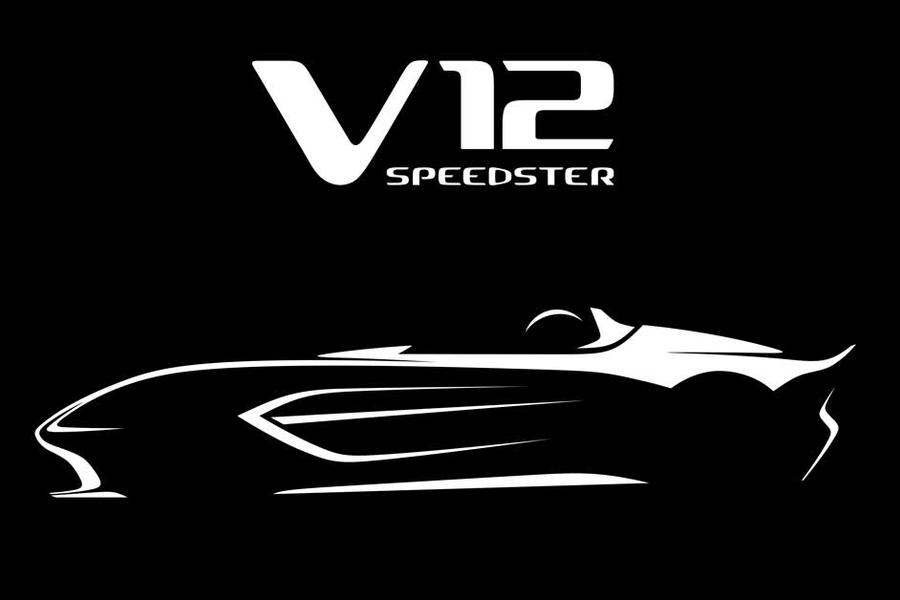 Aston Martin Announce A New Limited Edition V12 Speedster