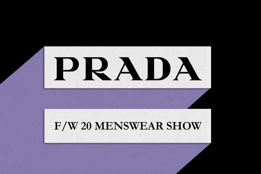 Livestream: The Prada F/W20 Menswear Show