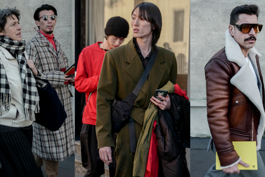 In Pictures: Street Style From Day 2 of Milan Fashion Week