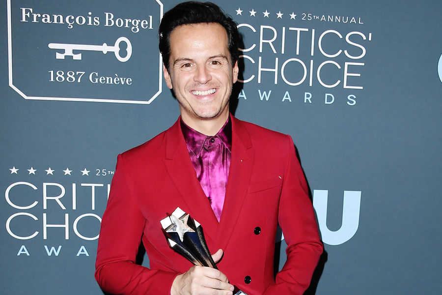 Is Andrew Scott Just In It For the Outfits?