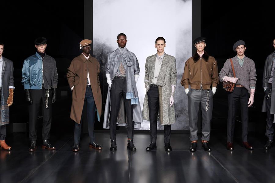 Kim Jones' FW20 Dior MEN Show Brings Elegance To The Menswear Spotlight