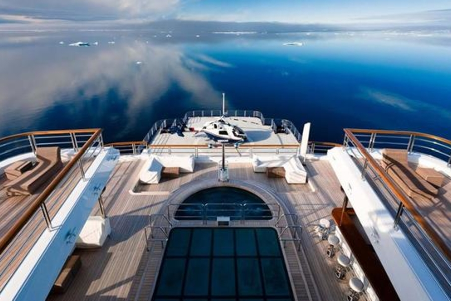 Take A Tour Of The M/Y Octopus, The $477 Million Superyacht That's Basically A Private Cruise Ship