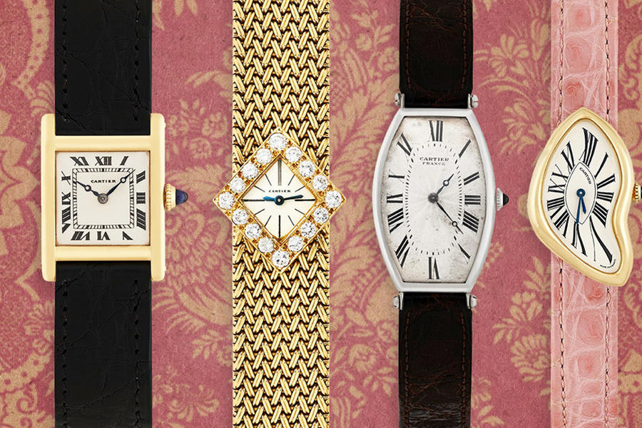Now You Can See The World's Coolest Cartier Watches In One Room