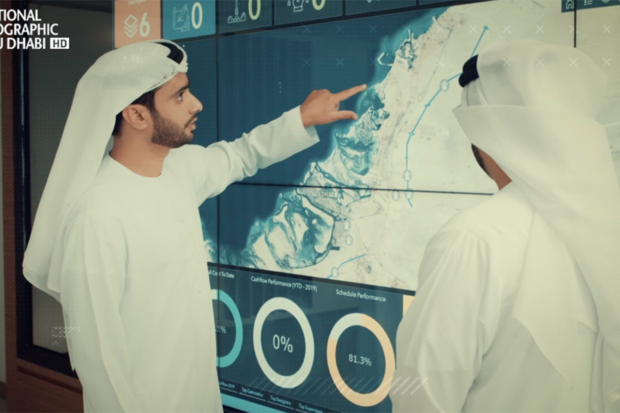 This National Geographic Documentary Reveals The Secrets Behind How Abu Dhabi Was Built