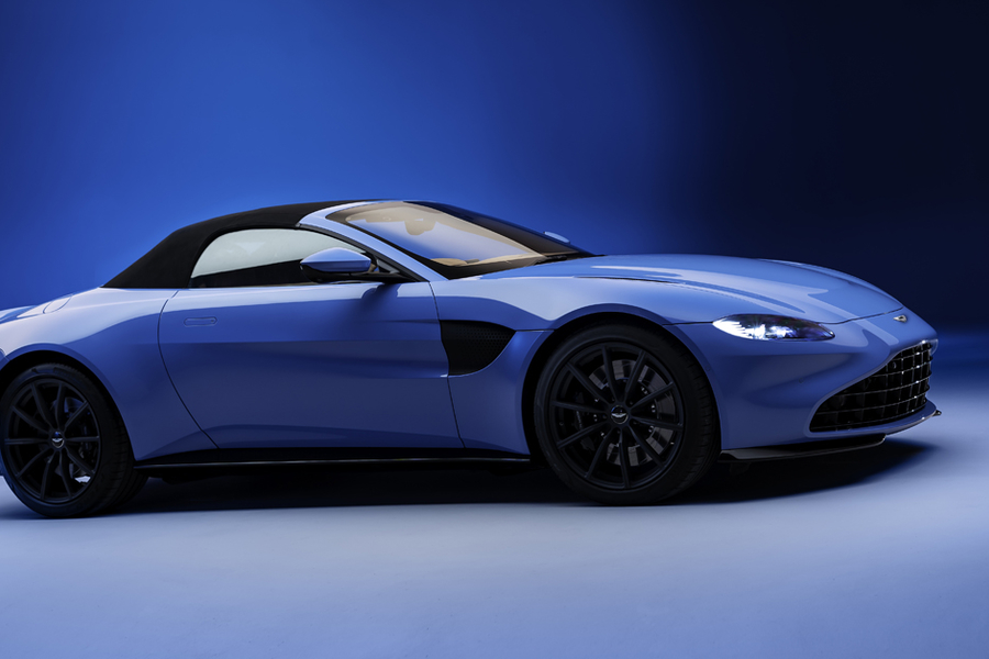 Aston Martin's Slick Vantage Roadster Is A Thrill Seeker's Dream