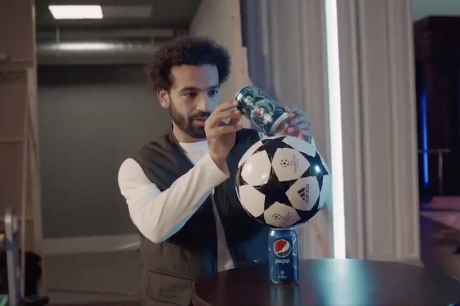 Mohamed Salah Wins At Pepsi's Balance Test