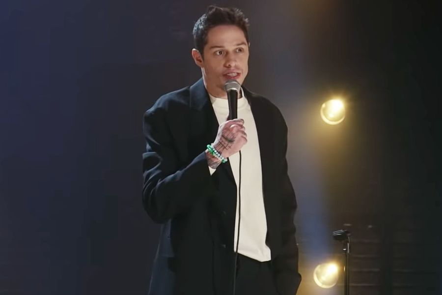 Holy Cow, Pete Davidson's Wearing A Suit Now