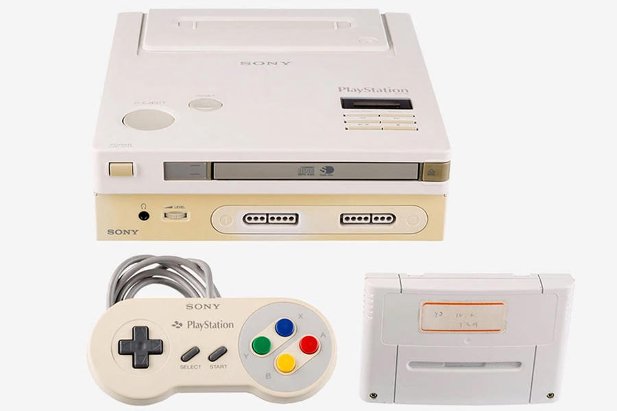 One Of The Very First Super Nintendo/Playstation Prototypes Is Auctioning For More Than $500k