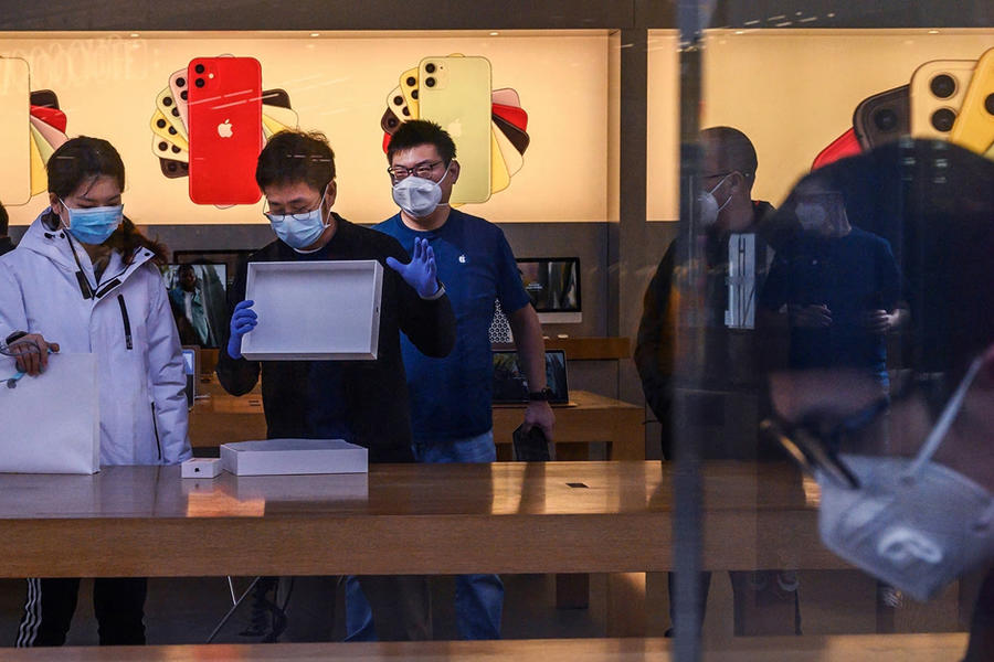 Apple Says Coronavirus Could Lead To An iPhone Shortage