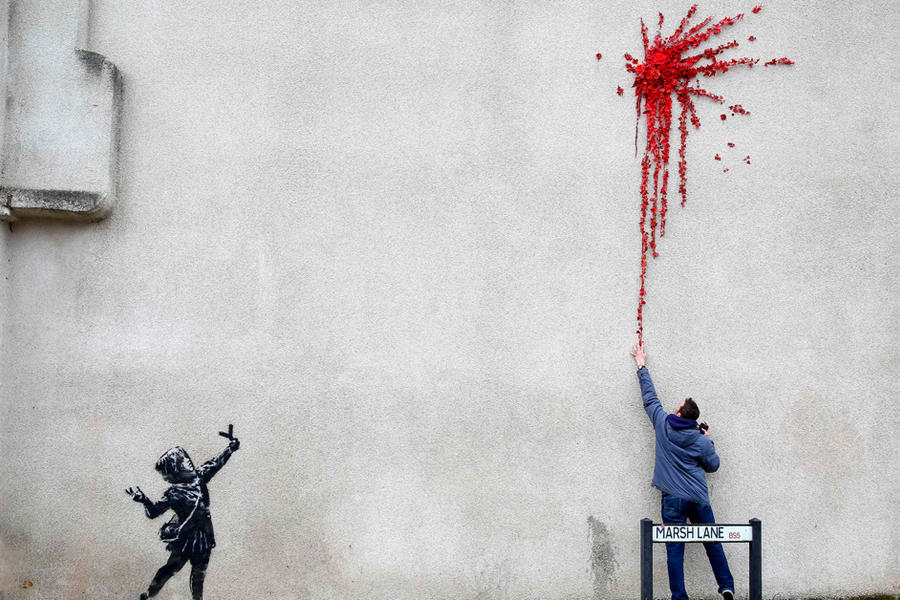 Banksy's Work To Be Shown In The Middle East For The First Time