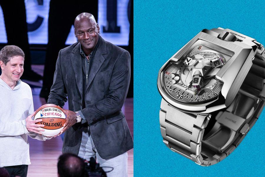 Michael Jordan Wears The Same Watch Brand As Iron Man