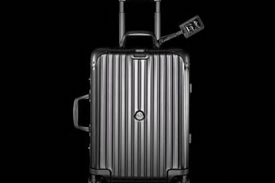 The Rimowa x Moncler Luggage Collection Is So Extra You'd Feel Bad Taking It On A Plane
