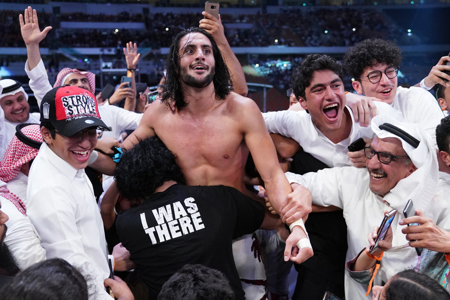 Is Saudi Arabia Now The WWE's Favourite Home Away From Home?