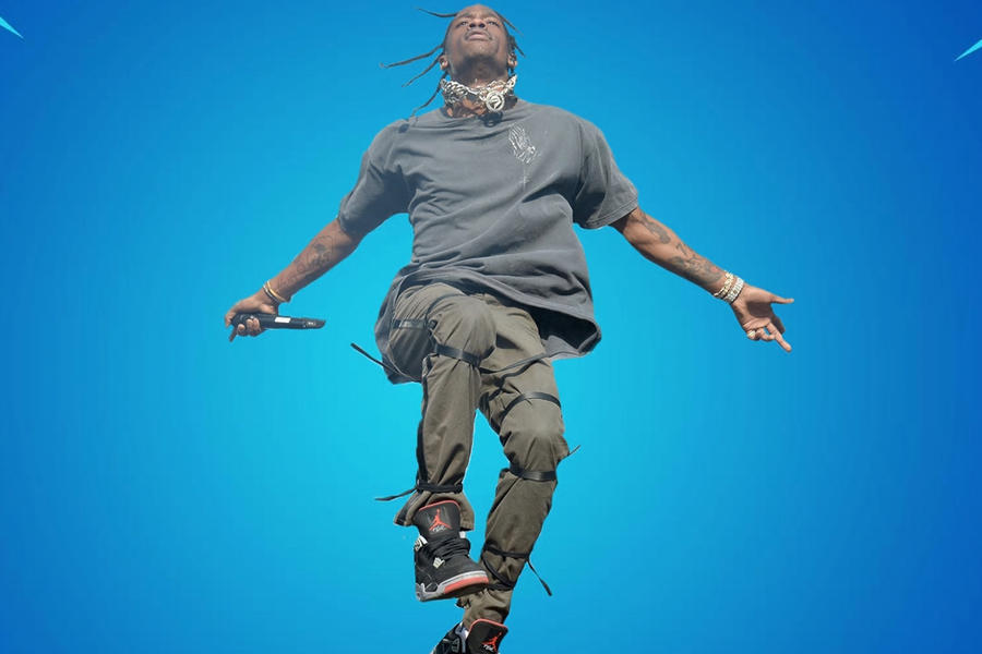 A Travis Scott x Fortnite Collab Is Apparently On The Way For Season 2