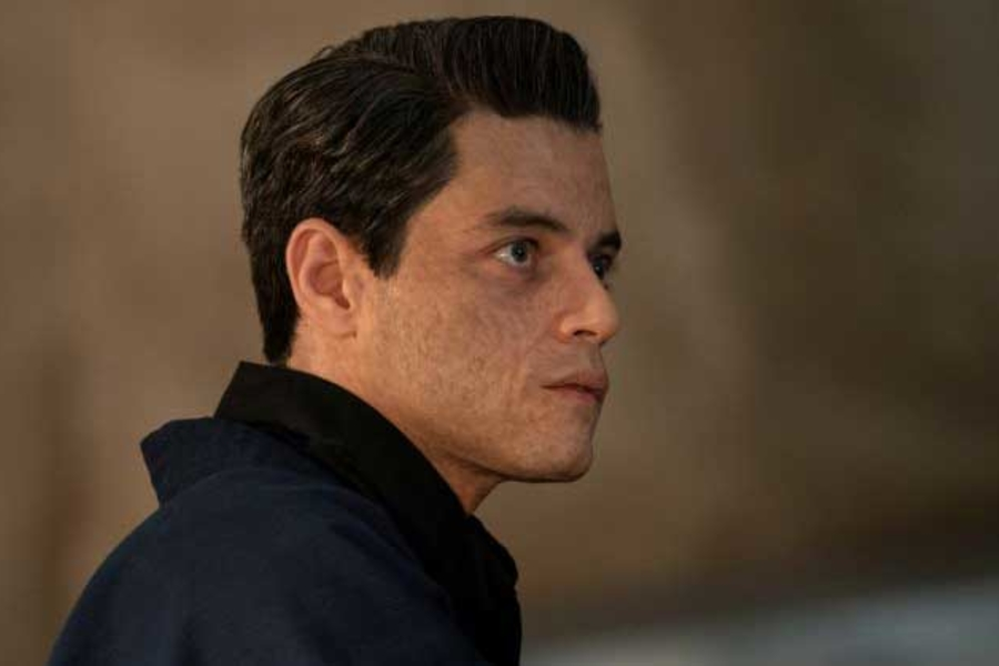 Behind-the-Scenes Look at Rami Malek's James Bond Villain