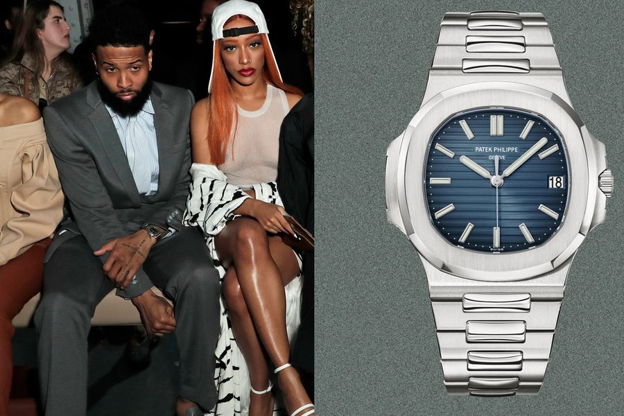 Odell Beckham Jr. Wears The Watch People Wait Almost A Decade To Get