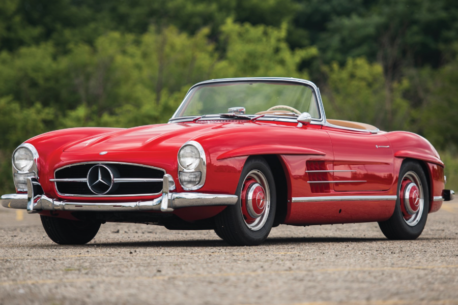 You Can Own This 1957 Mercedes-Benz 300 SL Roadster. But It's Going To Cost You