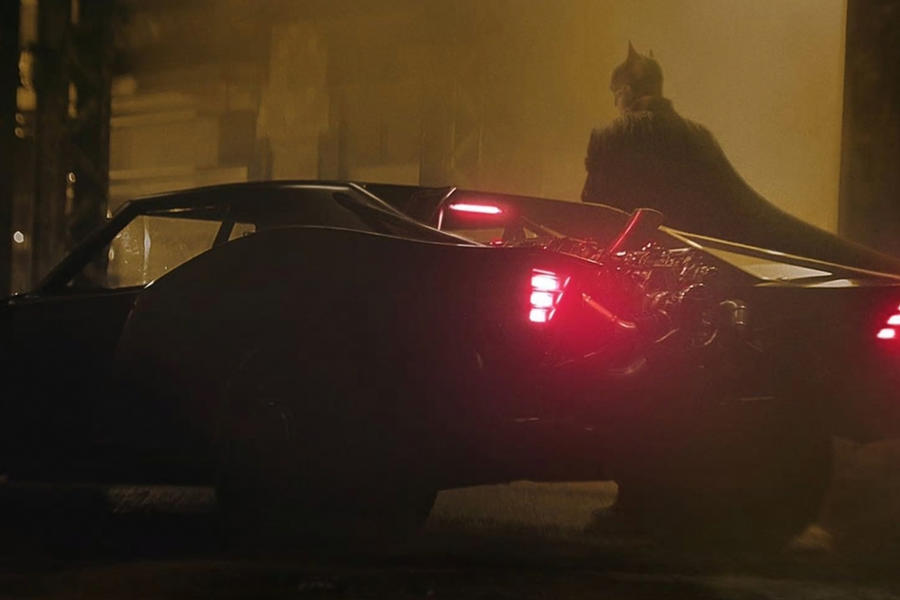 Your First Look At The Muscle Car-Inspired Batmobile Is Here