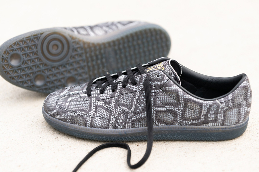 These Adidas Sneakers Look Like Snakeskin Loafers