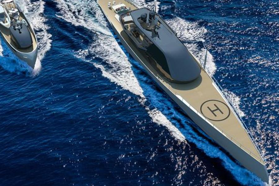 This 67-Foot Concept Superyacht Is The Ultimate Place To Self-Isolate