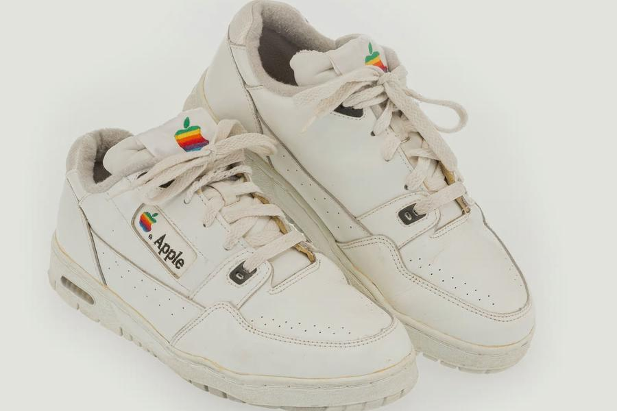 A Pair Of Apple Sneakers Has Sold Online For More Than $16,000