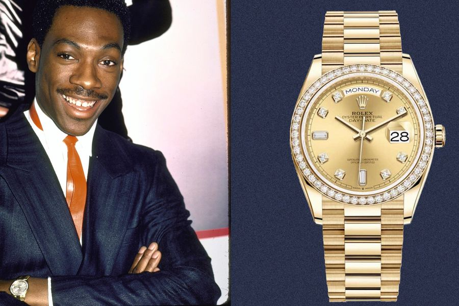 Eddie Murphy Wore Watches That Were Just As Fun As His Movies