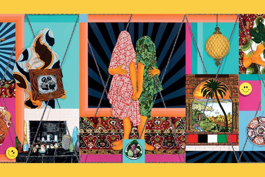 Iranian-Born Artist Amir H. Fallah Creates Work That Thrives In A Cultural Limbo