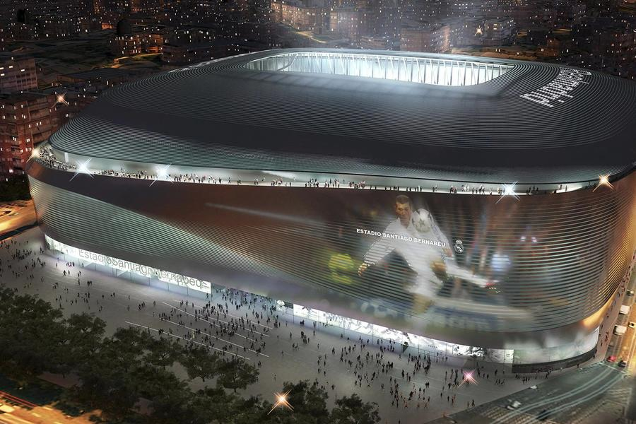 Real Madrid's Renovated Bernabeu Stadium Will Be A Football Tragic's Paradise